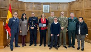 La Subdelegación de Defensa de Cuenca recibe el sello de excelencia a la calidad en los servicios