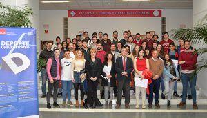 La UCLM entrega las distinciones a los ganadores del XXVIII Premio Rector en el Campus de Ciudad Real