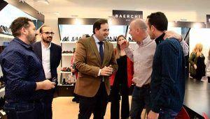 Núñez apuesta por una simplificación de la burocracia que ayude a las empresas de Castilla-La Mancha a mejorar su volumen de negocio