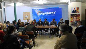 Núñez asegura que su proyecto político para la región se apoya en el municipalismo y en dar más financiación y protagonismo a los alcaldes