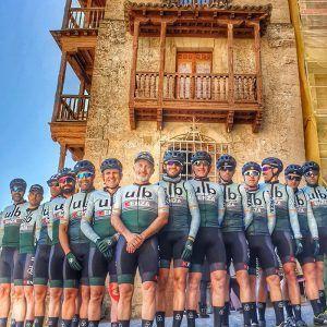 Presentado el nuevo equipo ciclista KENZA ULB Racing Team en Cuenca