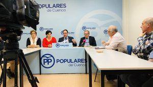 Prieto denuncia que la Junta niega 14 millones de euros de fondos europeos a pueblos de Cuenca pese a tenerlos