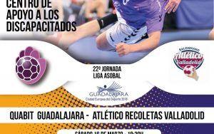 Quabit BM Guadalajara recibe a Valladolid con la confianza a tope