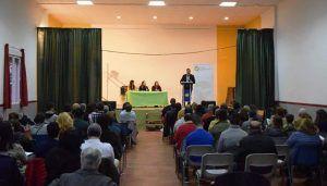 Un centenar de personas arropan a Daniel García y a los jóvenes de Nuevas Generaciones Serranía de Cuenca
