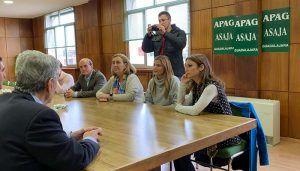 Agudo resalta en Guadalajara, junto a Andrea Levy, que el campo será la prioridad del Programa de Gobierno con el que el PP gobernará en Castilla-La Mancha