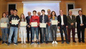 Alberto Rojo felicita a los ganadores de la Olimpiada Matemática celebrada en Guadalajara