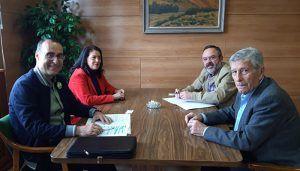 """Antonio de Miguel traslada a los responsables de APAG una amplia batería de medidas que VOX tiene para """"salvar"""" la agricultura y la ganadería de Guadalajara"""