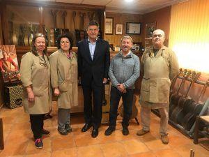 Catalá destaca el apoyo y la protección del Partido Popular a la artesanía para fomentar su comercialización