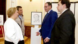 Diputación de Cuenca abre sus puertas a una exposición benéfica de la Venerable Hermandad del Prendimiento de Jesús