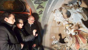 Diputación de Cuenca emprende la restauración del Retablo Mayor de La Parra de las Vegas