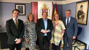 El Partido Popular se interesa por las necesidades del Ilustre Colegio de Abogados de Guadalajara