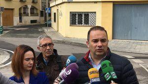 El PP achaca la paralización de la mejora del entorno de la calle Chorrón a la no aprobación por parte del PSOE, Ahora Guadalajara y Ciudadanos, de los presupuestos