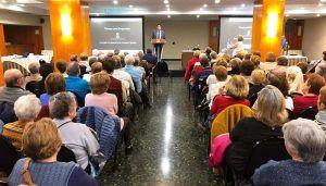 El programa 'Tiempo para Emprender' de Cuenca reúne en una jornada de convivencia a sus 272 participantes mayores de 60 años