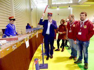 El proyecto Serranía en Vía de la Diputación de Cuenca, uno de los grandes protagonistas del encuentro nacional de modelismo ferroviario