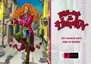 El sábado, 27 de abril, musical infantil con El Flautista de Hamelín en el Buero Vallejo