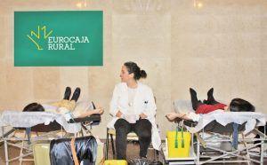 Eurocaja Rural acoge este miércoles el XII Maratón de Donación de Sangre