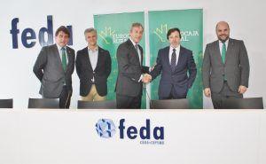 Eurocaja Rural renueva con FEDA su convenio financiero respaldando la actividad de los empresarios albaceteños