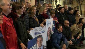 Guarinos pide el voto de los guadalajareños para el PP como un valor seguro para garantizar una España fuerte y unida