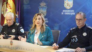 La Policía Local de Guadalajara lo hace muy bien: el 90,91% de las urgencias han sido atendidas en menos de cinco minutos