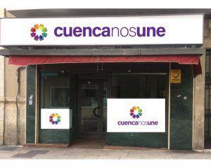 La agrupación 'Cuenca nos une' pide las firmas de los conquenses para poder concurrir a las elecciones municipales