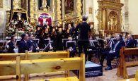 La Banda de la Diputación y el coro Novi Cantores ofrecieron dos solemnes conciertos en Guadalajara capital y en Atienza