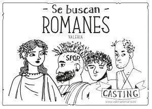 La ciudad romana de Valeria busca personajes