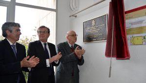 La Escuela de Ingeniería Minera e Industrial de Almadén, homenajeada por la Real Academia de Ingeniería