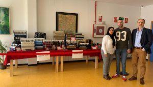 La Escuela Municipal de Música y Artes Escénicas de Cuenca acoge una exposición sobre la evolución del acordeón