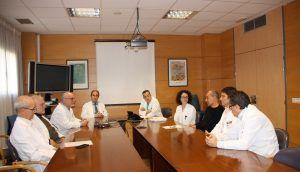 La Gerencia del Área Integrada de Cuenca aborda con los jefes de servicio los procesos que se llevarán a cabo en la nueva Unidad de Hemodinámica