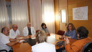 La Gerencia del Área Integrada se ha reunido con la Asociación de Esclerosis Múltiple de Cuenca para conocer y detectar necesidades