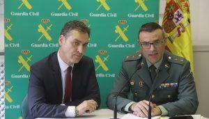 La Guardia Civil desmantela una organización criminal responsable de más de 100 robos en establecimientos hosteleros, viviendas y vehículos en la provincia de Guadalajara