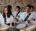La lluvia no apaga los tambores de Fuentenovilla
