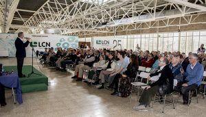 LCN Mecánica homenajea a su fundador, Emilio Bressel