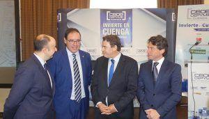"""Más de 200 personas asisten a la puesta de largo de """"Invierte en Cuenca. Un valor de futuro"""""""