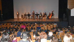 Más de un millar de alumnos asisten a los conciertos didácticos dentro de la Semana de Música Religiosa de Cuenca