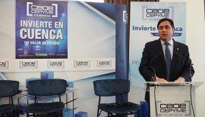 Mariscal anima a las empresas a venir e invertir en Cuenca porque ha conseguido revertir su situación económica