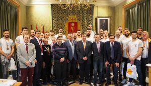 Mariscal felicita al Liberbank Cuenca tras proclamarse subcampeón de la Copa de S.M. el Rey