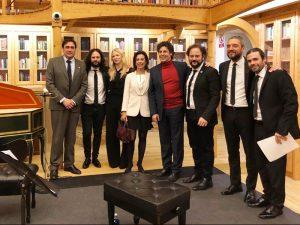 Moya expresa su deseo de mantener el impulso y la colaboración del Ayuntamiento a la Semana de Música Religiosa