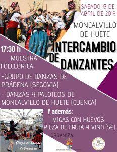 Muestra folclórica en Moncalvillo de Huete
