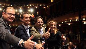 Núñez defiende que Casado es el presidente del Gobierno que asegura un futuro de libertad, progreso, riqueza y oportunidades para España