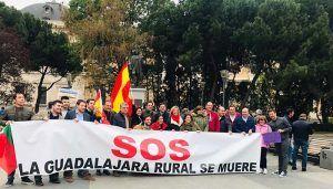 NNGG CLM se suma a la manifestación en defensa del mundo rural ¨España Vaciada¨