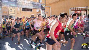 Pablo López y Cristina Giurcanu vencen en la XVI Carrera Popular de San Lorenzo de la Parrilla