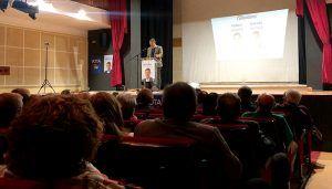 """Prieto pide a los conquenses que voten al PP porque """"es el único partido que garantiza y revaloriza las pensiones"""""""