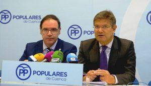 """Rafael Catalá """"Presentamos un programa electoral que es un auténtico compromiso del Partido Popular con los españoles"""""""