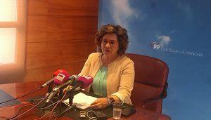 """Riolobos denuncia que Page y Gutiérrez copien el discurso sectario de Bildu al calificar de """"provocación"""" que Casado venga a Castilla-La Mancha"""