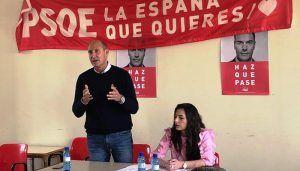 Sahuquillo pide a los jóvenes que se movilicen para pararle los pies a la derecha