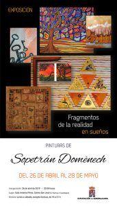 Sopetrán Domènech expone en la Sala de Arte de la Diputación de Guadalajara a partir del viernes 26