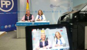 Valmaña asegura que frente a la propaganda de Page y el PSOE, el Partido Popular garantiza la neutralidad de las instituciones y defender la Constitución