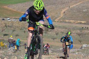 Xavier Calaf y Carla Fernández dominaron la X Carrera MTB Virgen de Rus de San Clemente