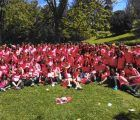 Brihuega vuelve a ser el grupo más numeroso en participar en la XVI Carrera de la Mujer celebrada en Madrid